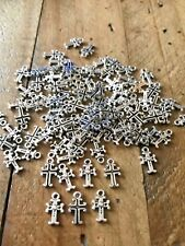 50 X RELIGIOUS CHRISTIAN PENDANTS OR CRUCIFIX CROSS CHARMS FOR JEWELLERY MAKING