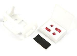 FrSky Taranis X-Lite Transmitter BRACE Lite+ Red Long & Short Gimbal Stick Ends