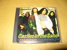 Thunder Castles In The Sand 3 Track cd Single 1995 cd + inlays  Ex Condition