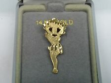 14Kt Gold Charm, Betty Boop Charm, NEW with Tags, Gold Betty Boop