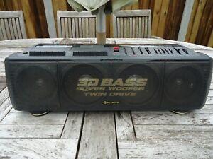 hitachi trk 3d88 boombox ghettoblaster, ,working, new belts