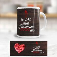Tasse 'Traummann' - Liebe - Valentinstag - Becher - Kaffeetasse - Love