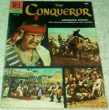 The Conqueror Four-Color 690, (FN+ 6.5) 1956 John Wayne photo! 40% off Guide!