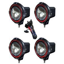 4 Inches 4x4 Off Road 6000k 55w Xenon Hid Fog Lamp Light 4pcs Spot Light Relay