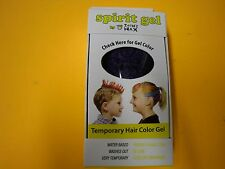 New !  Zach's Wax Temporary Hair Color Gel - Purple Color  Waster Based