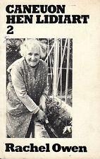 "RACHEL OWEN - ""CANEUON HEN LIDIART"" - BONCATH - MYNACHLOGDDU - WELSH POEMS(1980)"