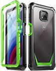 Motorola Moto G Power (2021) Case,Poetic® Military-grade Shockproof Cover Green