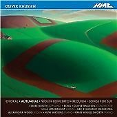 Oliver Knussen - Autumnal - Booth BCMG Josefowisz  - VGC CD 2012 - FAST UK POST