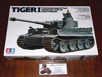 WWII german Sd.Kfz. 181 Tiger I Frühe Produktion 1:35 Tamiya Neu 35216