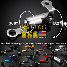 7 Colors Universal Fluid Reservoir Master Cylinder Bracket For NINJA 250R / 400R