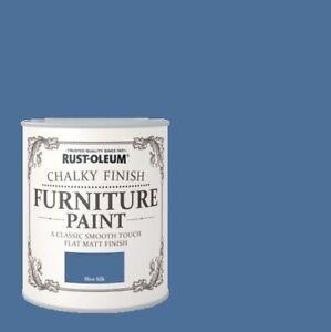 Rust-Oleum Chalk Chalky Furniture Paint 750ml / 125ml Chic Shabby Vintage Paints