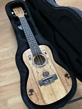 RRP £209 Super Quality Spalted Maple Concert Ukulele Arched Back + hard case