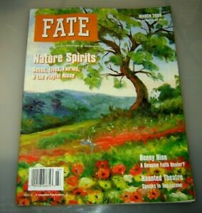 Fate Magazine March 2000 - Nature Spirits - Elves, Fairies, - Benny Hinn Healer