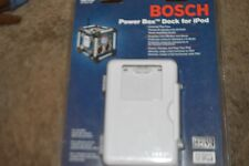 Bosch Power Box Dock For iPod Weather/Abuse Resistant Powers,Charges