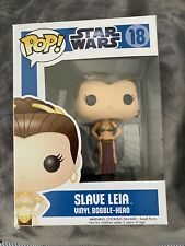 Walmart Exclusive Funko Pop Star Wars #287 Princesse Leia GOLD Comme neuf CONDITION
