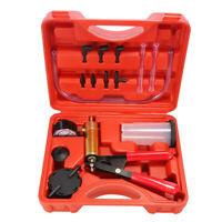 tester Kit de coche Bomba de vacio de pistola Adaptador de drenaje del freno