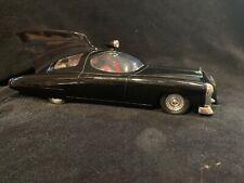 Vintage 2002 Batman Batmobile Die Cast 1950 Car  Batman Figure