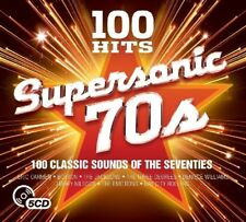 100 HITS SUPERSONIC 70S  (CHARLIE RICH, DOLLY PARTON, MEAT LOAF, ...) 5 CD NEW!