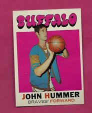 1971-72 TOPPS # 125 BUFFALO JOHN HUMMER NRMT-MT CARD (INV# A7699)