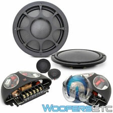 "MOREL VIRTUS NANO 602 CARBON 6.5"" COMPONENT SPEAKERS SILK TWEETERS CROSSOVERS"