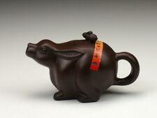 Hase Teekanne Chinesisches Horoskop Tierkreiszeichen Tierzeichen Yixing Ton