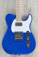 G&L USA ASAT Classic Bluesboy Red White and Blue Metallic Flake Guitar