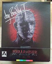 Hellraiser: The Scarlet Box Blu-Ray NEW SIGNED by Doug Bradley Arrow Video
