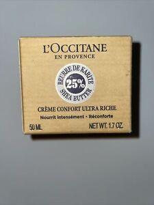 L'Occitane Comforting Face Cream 50ml - 5% Shea Normal/ Combination Skin