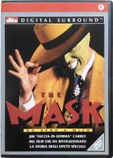 Dvd The Mask - da zero a mito con Jim Carrey 1994 Usato