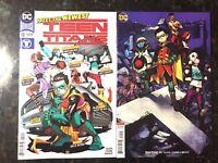 Teen Titans #20 (2018) Cover A & B Shirahama Variant Set [NM] 1st Full Crush!!