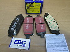VAUXHALL ASTRA  REAR BRAKE DISC BRAKE PADS  EBC DP 42066P