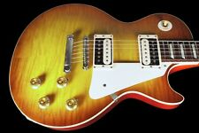 2016 GIBSON LES PAUL 1958 CUSTOM SHOP 58 VOS R8 FLAME TOP w CONTOURED HEEL
