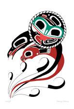 Unity Danny Dennis Art Card Tsimshian Northwest Coast Native
