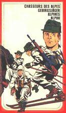 petits soldats 1/72. Atlantic. Chasseurs alpins. 141 pièces. Lot 109CA.