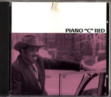 "Piano ""C"" Red- Self Titled Chicago Blues CD (1992) James Wheeler/Sonny Carter"
