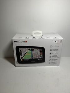 TomTom Go 520 5 Inch GPS Navigation Device with Real Time Traffic World Maps