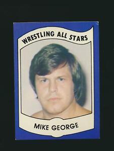 1982 PWE Wrestling All Stars Series B #29 Mike George St. Joseph Missouri (PEO)
