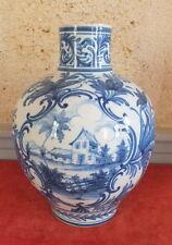 vase faience Emile Tessier Malicorne