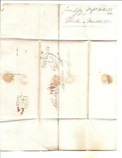 1830 Early Letter   London, England, NO SEAL, Cornhill, England