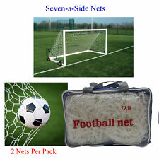 Football Net Seven a Side 7-a-Side Goal Netting 16 Feet Indoor Replace
