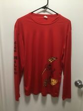 THE DEVIL'S CHASE SALEM MA T SHIRT MENS XL LONG SLEEVE RUN IF YOU DARE 666 TEE