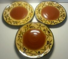 Italica ARS Olives Tuscan Plate Brown Center Italy (3)