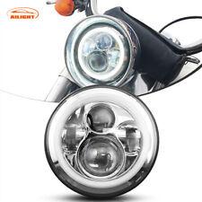 """DOT 7"""" LED Headlight Projector Fit For Honda Shadow VT VT1100 VT750 VT600 VF750"""