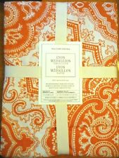 Williams Sonoma Lyon medallion tablecloth 70x90