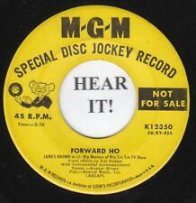 James Brown C&W RIN TIN TIN SND TRCK 45 (MGM 12350 Promo) Forward Ho /Ghost Town