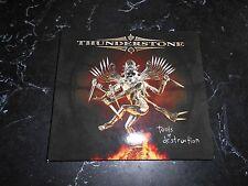 THUNDERSTONE - TOOLS OF DESTRUCTION CD/DIGIPACK 2005 STRATOVARIUS SONATA ARCTICA