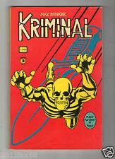#kriminal super fumetti in film n.4 editoriale corno 1976Rare gleen saxon comics