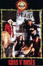 Guns N' Roses 1991 Original Store Promo Poster