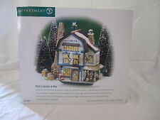 Dept 56 New England Village Platt's Candles & Wax #56.56614