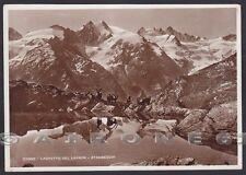 VALLE D'AOSTA COGNE 78a LAGO LAUSON STAMBECCHI Cartolina FOTOGRAFICA - DIENA